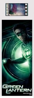 Green Lantern Ryan Reynolds (S5) Bookmark - Film Cell (Marvel Film Cell Bookmark)