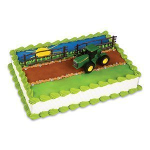 Cake Decorating Kit Topper Decoration - John Deere Cake Topper Decorating Kit by Bakery Crafts