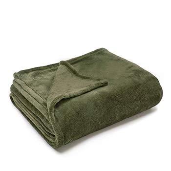 JefreyF Blankets - Warm Flannel Blanket Coral Plaid for Sofa air Throw Travel Manta Soft Blanket for Beds Throws Fleece Blanket Manta Coberto 1 -