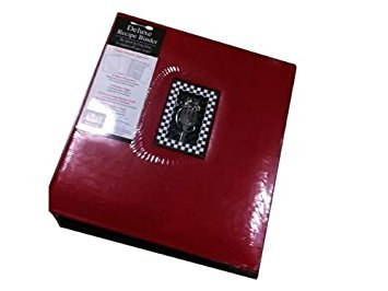 Deluxe Recipe Binder Tapestry (Red) by Tapestry