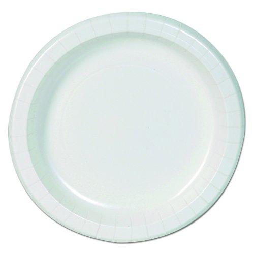 Dixie Basic DBP09W Basic Paper Dinnerware, Plates, 8.5