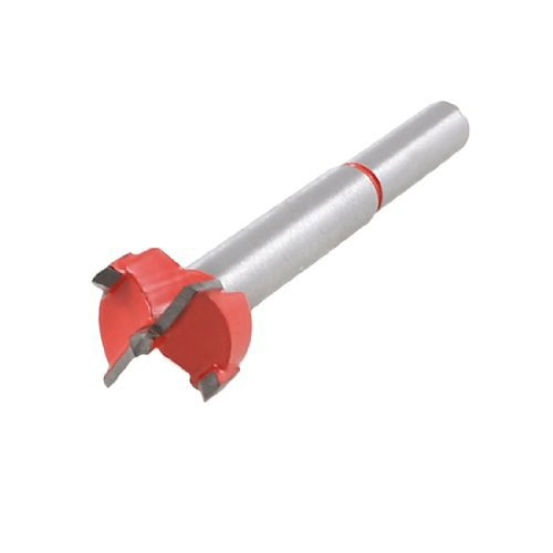 - AMZVASO 2015 Hot And New 38g Red Silver Tone Carbide Tip 17mm Dia Boring Bit Woodworking Drill Tool