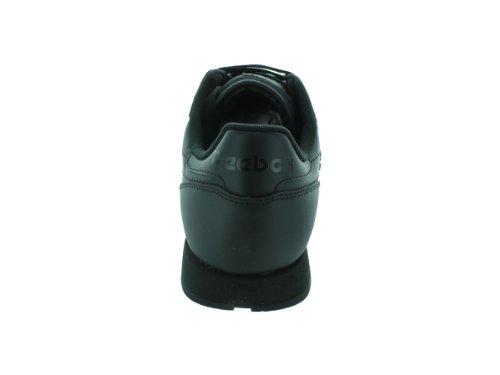 Reebok Men's Cl Lthr Fashion Sneaker, Us-Black/Black/Black, 8.5 M US