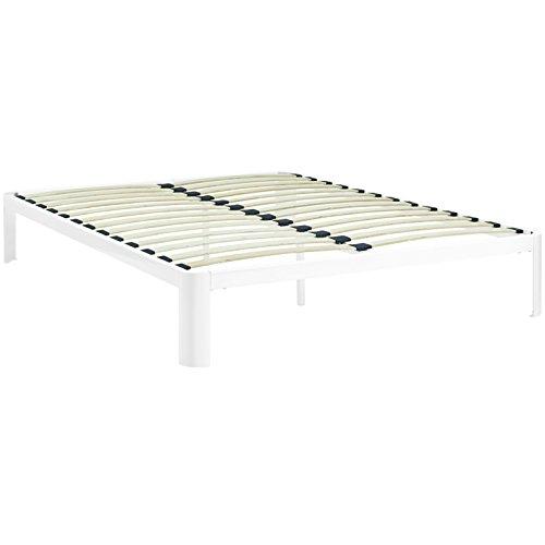 Modern Contemporary Urban Design Bedroom Queen Size Platform
