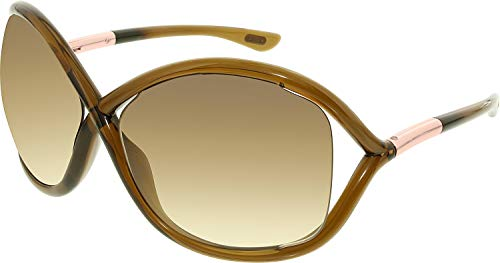 Tom Ford Women's FT0009 Sunglasses, Brown from Tom Ford