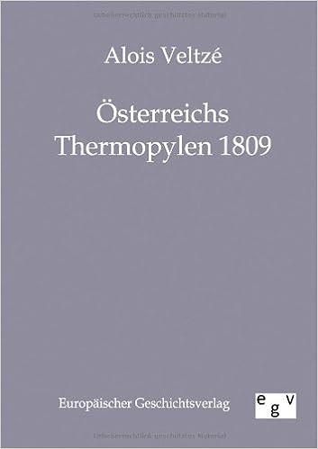 Book Österreichs Thermopylen 1809