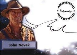 Smallville Season 6 A52 John Novak Autograph Card