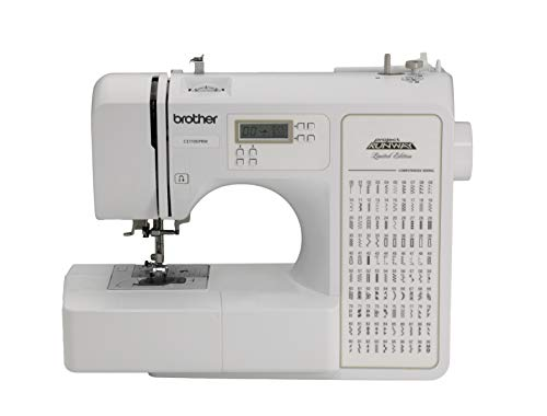 Brother RCE1100PRW Refurbished Sewing Machine, White