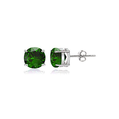 4mm Round Stud Earrings - 6
