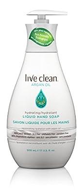 Live Clean Argan Oil Replenishing Liquid Hand Soap, 17 oz
