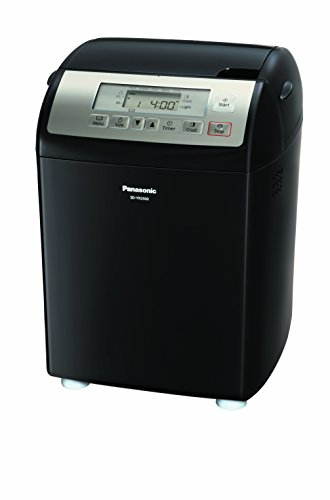 Panasonic SD-YR2500 Bread Maker with Gluten Free Mode and Yeast / Raisin / Nut Dispenser, Black by Panasonic