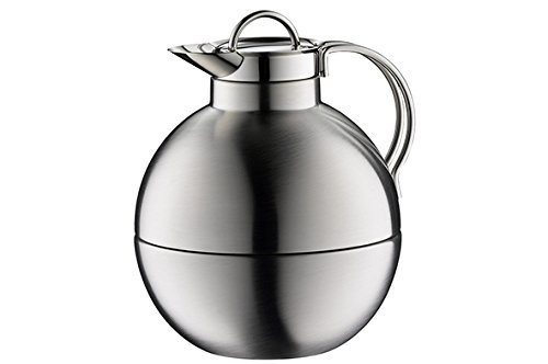 alfi 'Kugel' (Sphere) 0101205094 Insulated Thermos Can 0.94 L Matte Stainless Steel ()