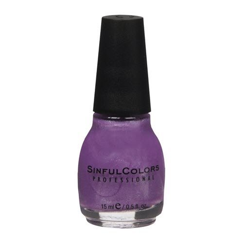 Sinful Colors Professional Nail Polish Enamel, Purple Diamond 0.50 oz