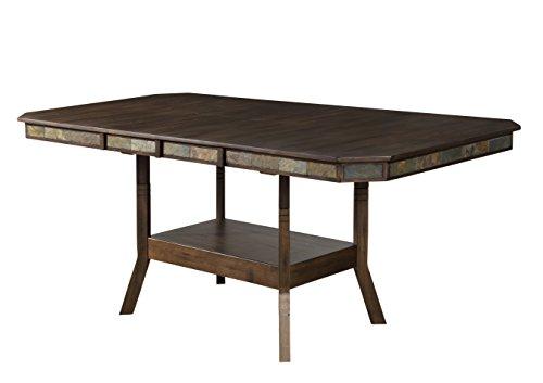Sunny Designs Savannah Double Butterfly Leaf Counter High Dining Table Double Butterfly Leaf