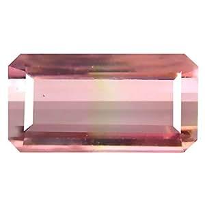 Deluxe Gems women men Unisex Adult Unisex Children teens Not stamped no-metal-type Octagon Pink tourmaline