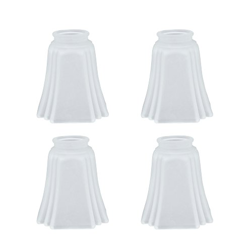 Aspen Creative 23028-4 Transitional Style Replacement Glass Shade, Frosted ()