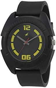 Fastrack Casual Analog Black Dial Men's Watch NM3116PP03/NN3116PP03
