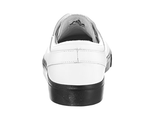 Nike - Zapatillas de skateboarding de Piel para hombre multicolor WHITE/WHITE-WHITE-BLACK