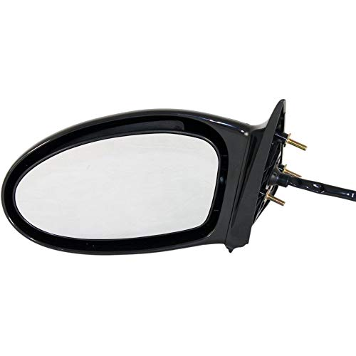 Pontiac Grand Am Mirror Glass - Kool Vue Manual Remote Mirror For 2002-2003 Pontiac Grand Am 99-2001 Oldsmobile Alero LH