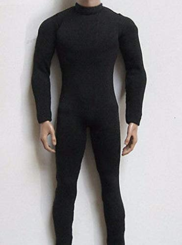 "1:6th men/'s Black stretch tights Model For 12/"" male Action Figure Body Doll Toy"