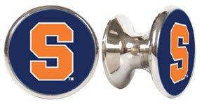 Syracuse Orange NCAA Stainless Steel Cabinet Knobs / Drawer Pulls (2-pack) by ATOMK