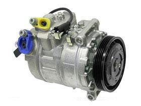 Amazon com: BMW e60 e63 e64 (04-07) A/C ac Compressor NEW Denso e64
