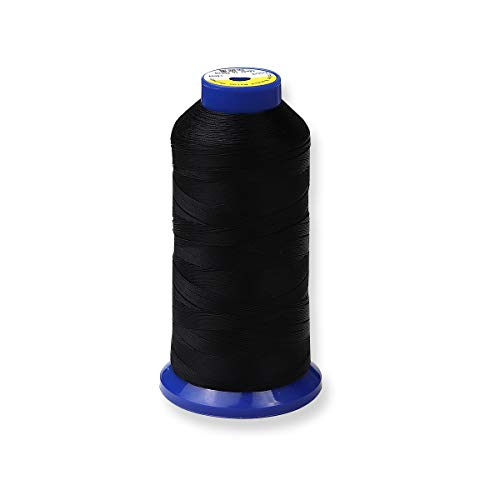 Learn More About Bonded Nylon Thread for Upholstery, Leather, Jeans and Weaving Hair; Heavy-Duty; #6...