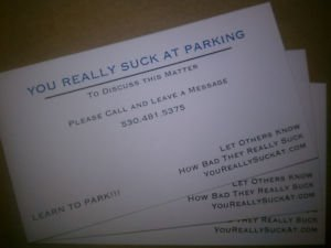 Amazon Com You Really Suck At Parking Business Card 3 Pack
