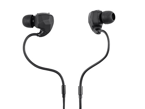 Monoprice Sweatproof Bluetooth Wireless Earbuds Headphones with Memory Wire & Mic - (115273)