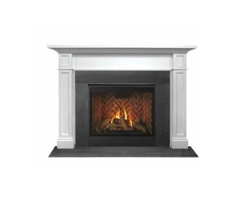 (Outdoor Lifestyles AFAAMPB Acadia Flush Mantel in Primed MDF - 73