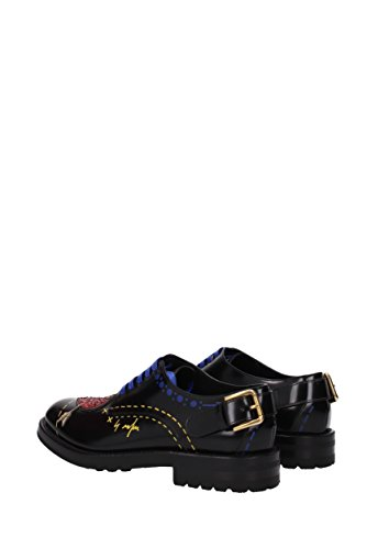 Dolce Donna Derby EU Nero Pelle amp;Gabbana CN0037AI522 TPrxqTA