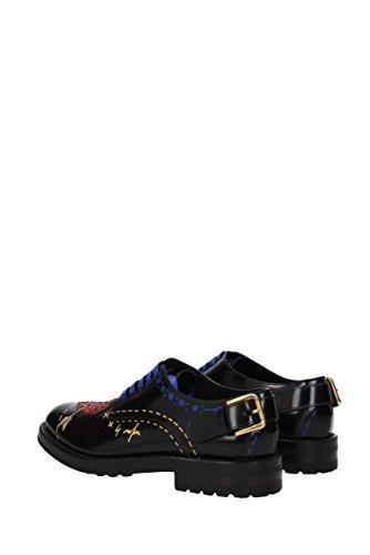 CN0037AI522 Donna Dolce Nero Derby amp;Gabbana EU Pelle wqw4p8IvO