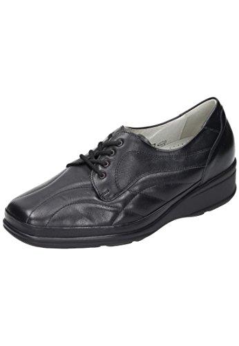 De Mujer Cordones Waldläufer Schwarz Zapatos UwzTqT