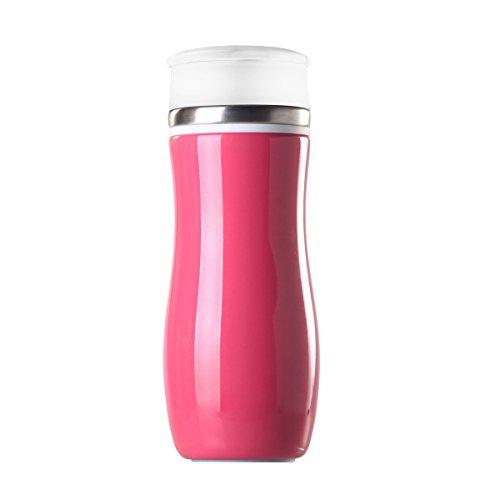 (Timolino 12oz. Tazza Vacuum Mug (Candy Pink))