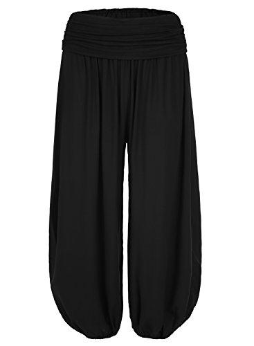 Black Harem Pants - 3