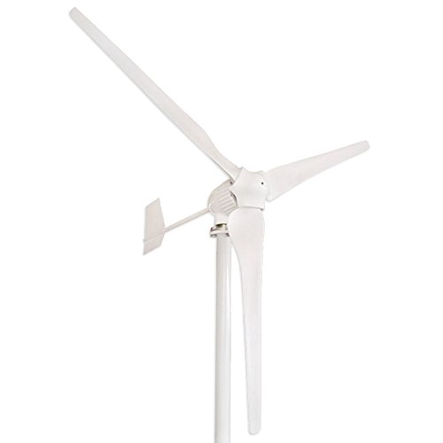 Tumo-Int 1000W 3Blades Wind Turbine Generator Kit with Wind Boosting Controller and Dump Load - Generator Wind Turbine Home
