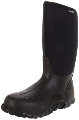 Bogs Men's Classic High Waterproof Insulated Rain Boot, Black, 4 D(M) US