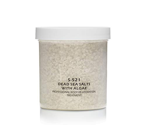 RAYA Dead Sea Salts With Algae (S-521) | Relaxing, Calming, and Hydrating Bath Treatment | Made with Minerals, Seaweed, and Algae