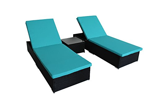 outime outdoor patio synthetic backyard poolside garden rattan