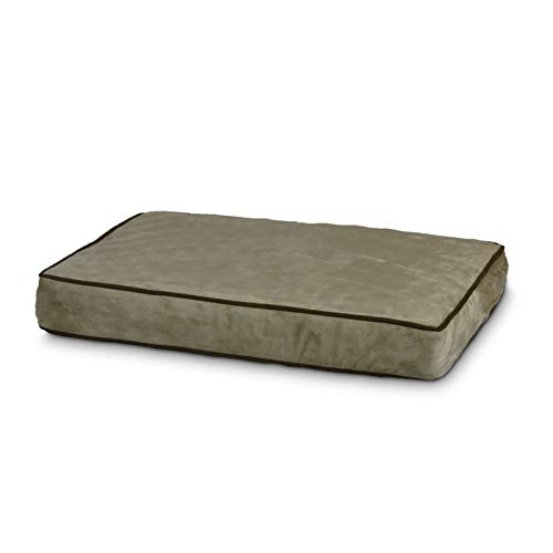 Snoozer Outlast Dog Bed Sleep System 5-Inch Thick, Small, Buckskin/Java