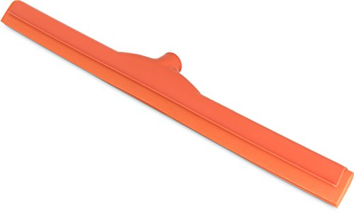 Carlisle 4156824 Spectrum Double Foam Rubber Floor Squeegee with Plastic Frame, 24'' Length, Orange by Carlisle (Image #12)