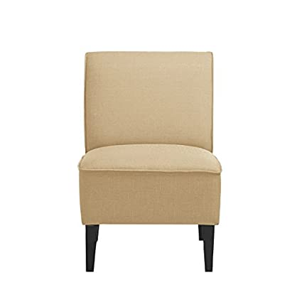 UrbanMod UM9988 Modern Slipper Chair Cream 24u0026quot;W