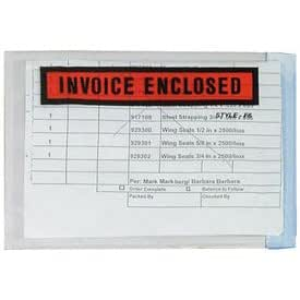 Shipping Envelope - Invoice Enclosed