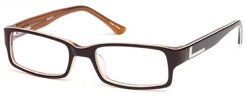 Childrens Boys Glasses Frames Brown Kids Prescription Eyeglasses 47-17-130