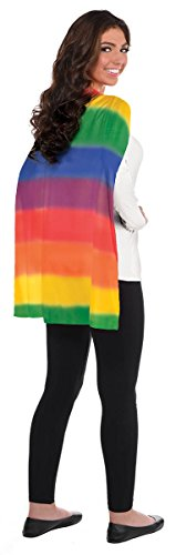 Amscan Cape, Party Accessory, Rainbow -