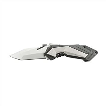 Schrade SCHA3CP MAGIC Assisted Opening Bead Blast Tanto 4034 Stainless  Steel, AK Colored Handle with Grey Insert, Clam Packaging