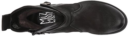 Miz Mooz Women's Nimble Ankle Boot, Black, Medium Black