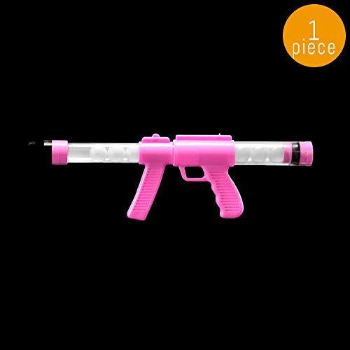 Lumistick 19'' Glow In The Dark Moon Blaster Gun, Pink, 1 Piece]()