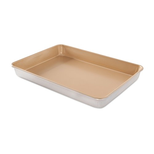 Nordic Ware Naturals Aluminum NonStick High-Side Sheet Cake Pan by Nordic Ware