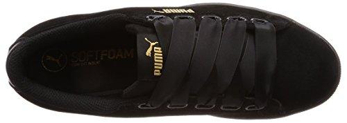 Sneaker Women Trainers Black S 366416 puma Black Puma Vikky Kids 01 Ribbon pwSIqIZxt